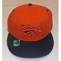 Denver Broncos Flat Bill Flex Hat By Reebok - Osfa