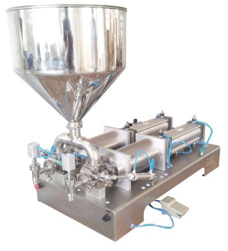 10-150 ml double heads Cream Shampoo Cosmetic Automatic Filling Machine
