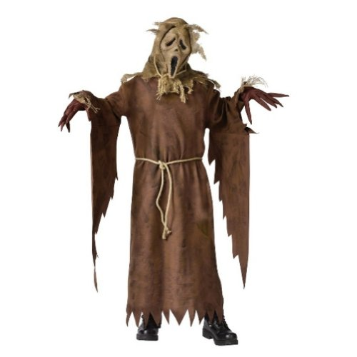 [Fun World Boys Ghost Face Costume With Scream Scarecrow Mask] (Scary Scarecrow)