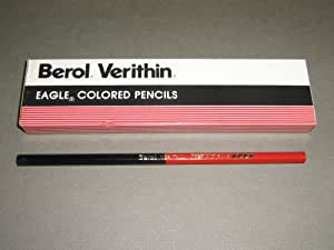 Berol® Verithin, Eagle Colored Pencils, Red and Blue, 748, Sold In units of 3 pencils,Limit 2 per customer