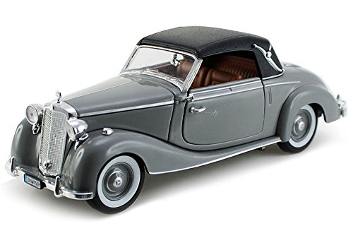 1950 Mercedes Benz 170S Soft Top, Gray - Signature Models 32375 - 1/32 Scale Diecast Model Toy Car