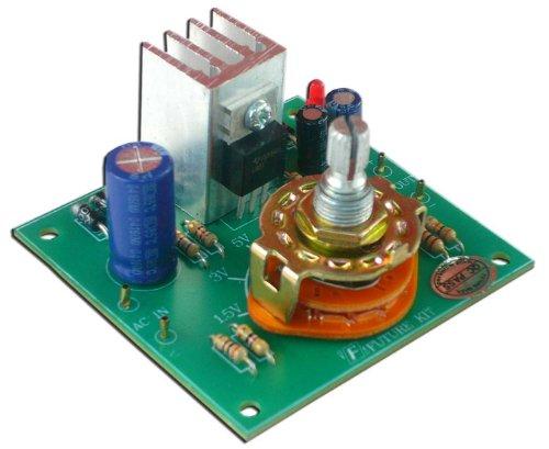 Regulator Power Supply Dc 1.5V,3V,5V,6V,9V,12V 1A For Electronic Lab [Fa815]
