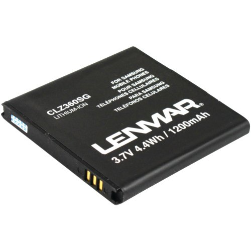 Lenmar-CLZ360SG-1200mAh-Battery-(For-Samsung-Galaxy-S)