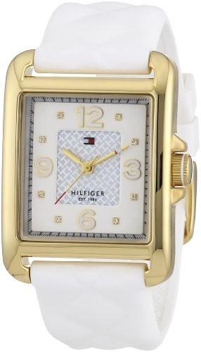 Tommy Hilfiger Damen-Armbanduhr Sport Luxury Analog Quarz Silikon 1781246 thumbnail
