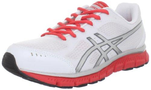 ASICS Women's GEL-Flash Running Shoe,White/Lightning/Poppy,9 M US