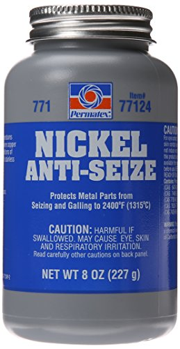 Permatex 77124 Nickel Anti-Seize Lubricant, 8 oz.