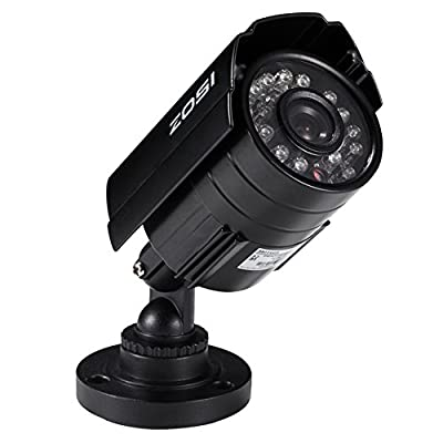 ZOSI 24 IR-LEDs CCTV Camera Home Security Day/Night Waterproof Camera
