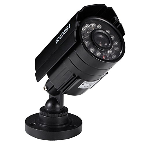 ZOSI HD 700TVL 24 IR-LEDs CCTV Camera Home Security Day/Night Waterproof Camera