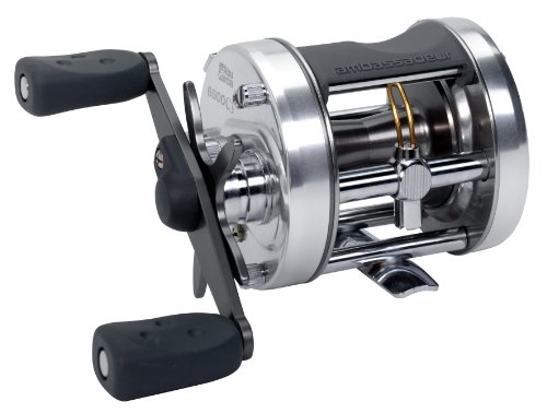Abu Garcia 6500C3 Ambassadeur C3 Baitcast Round Reel (3 Ball-Bearing, Gear Ratio 5.3:1, Capacity 14/245)