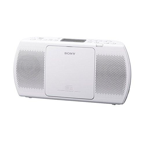 Sony ZSP-E40CPW Lecteur CD/MP3, USB, Radio - Blanc