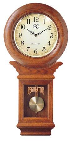 Cuckoo clocks river city clocks chiming american regulator wall clock with swinging pendulum - Coo coo clock pendulum ...