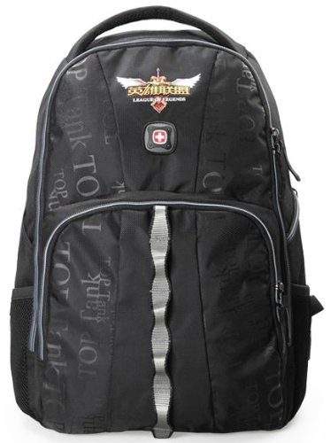 2014 Swiss Gear New Style Classic 15.6 Inch Computer Notebook Laptop Teblet Backpack.Sa1909-Black