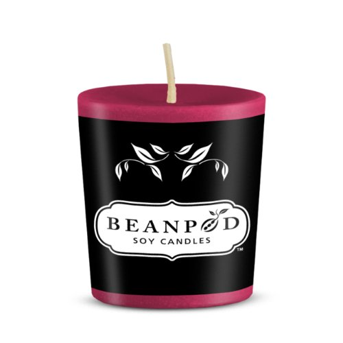 Beanpod Candles Whipped Cream, Votive  (Pack of 18)