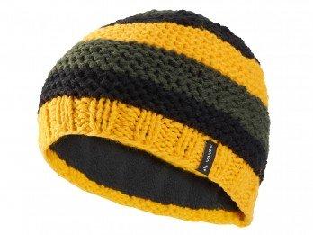 vaude-bonnet-melbu-jaune-noir-jaune-taille-unique