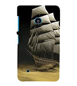 Sailboat wallpaper Cute Fashion 3D Hard Polycarbonate Designer Back Case Cover for Nokia Lumia 530 :: Nokia Lumia 530 RM 1017 :: Nokia Lumia 530 Dual SIM :: Nokia Lumia 530 Dual SIM RM 1019