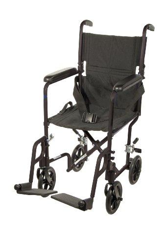 Drive Medical Deluxe Lightweight Aluminum Transport