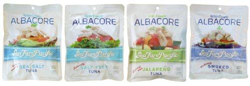 Albacore Tuna 6Oz. Sampler 4 Pack