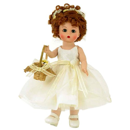 Buy Madame Alexander 8 Inch Special Occasions Collection Doll – Forever Yours Flower Girl- Red Hair