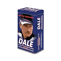 Press Pass Dale Earnhardt Trading Cards with Collectors Tin by Press Pass