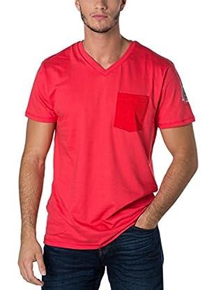 Geographical Norway Camiseta Manga Corta Snht (Rojo)