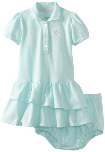 Little Me Baby-girls Infant Butterfly Tennis Dress Set, Aqua, 18 Months