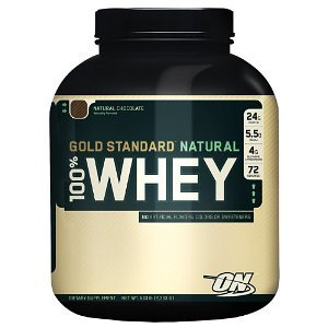 Optimum Nutrition - 100% Natural Whey Gold Standard Protein Chocolate - 5 lbs. ( Multi-Pack)