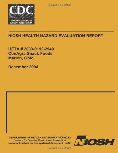 niosh-health-hazard-evaluation-report-heta-2003-0112-2949-conagra-snack-food-marion-ohio