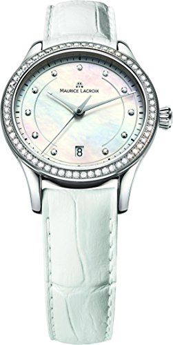 Maurice Lacroix Les Classiques LC1026-SD501-170 Reloj de Pulsera para mujeres con diamantes genuinos
