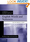 English Words and Sentences: An Introduction (Cambridge Introductions to the English Language)