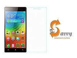 SAVVY Lenovo Vibe X2 0.3mm Best Premium High Quality HD Crystal Clear Tempered Glass Screen Protector For Lenovo Vibe X2