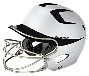Easton Two-Tone Natural Grip Junior Batting Helmet with Mask by Easton