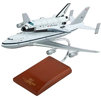 B747 with Shuttle - 1/200 scale model