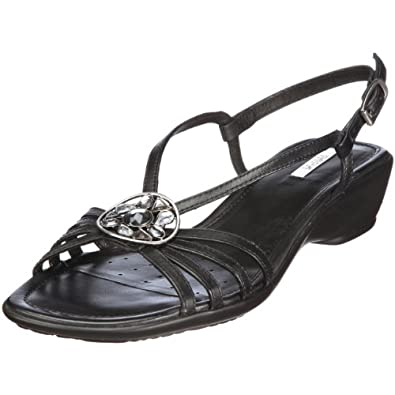 geox donna coral d1187z00043c9999 damen sandalen fashion sandalen schuhe handtaschen. Black Bedroom Furniture Sets. Home Design Ideas