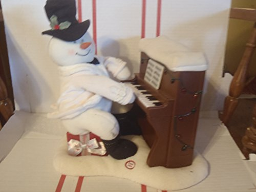 Hallmark Singing and Caroling Animated Piano Snowman 2005 Jingle Pals