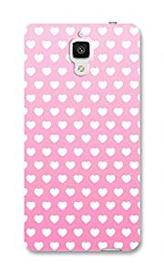 Back Cover for Xiaomi Mi4 PINKHEART