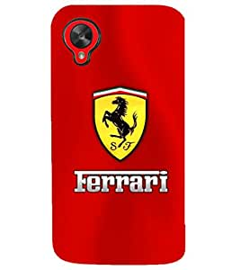 PRINTSHOPPII SPORTS CAR Back Case Cover for LG Google Nexus 5::LG Google Nexus 5 (2014 1st Gen)