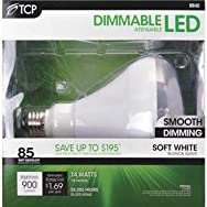 TCP BR40 Dimmable LED Floodlight Light Bulb-14W BR40 LED 27K BULB