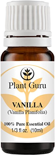 Vanilla Essential Oil. 10 ml. 100% Pure, Undiluted, Therapeutic Grade.