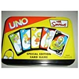 The Simpsons Uno Special Edition Card Game - Comes in a Tin