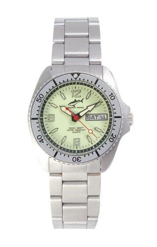 Chris Benz One Medium CBM-N-SI-MB Reloj unisex Reloj de Buceo