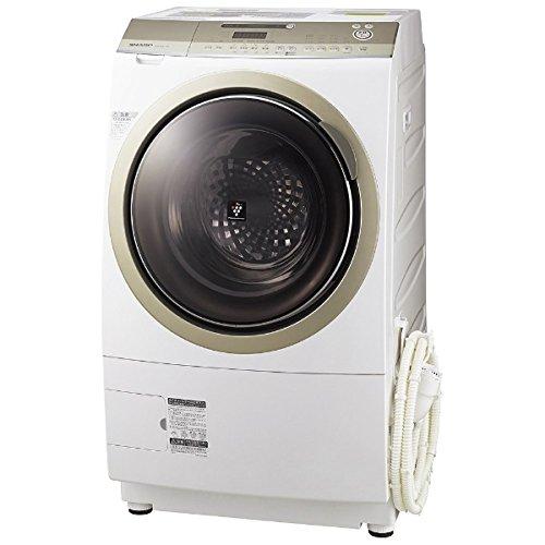 シャープ 10.0kg ドラム式洗濯乾燥機【左開き】ゴールド系SHARP プラズマクラスター洗濯乾燥機 ES-Z210-NL