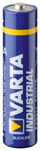 Varta industrial piles aAA 1,5 v lR03 toolTech mignon4003 batterie-batterie de rechange