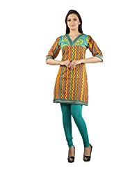Rama Casual 3/4 Sleeve Striped Women's Kurti