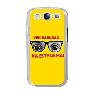 a AND b Designer Printed Mobile Back Cover / Back Case For Samsung Galaxy S3 (SG_S3_689)