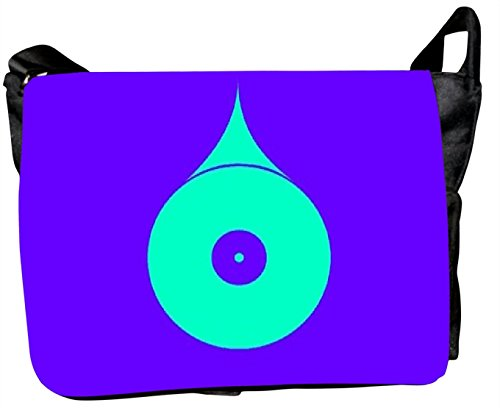 Rebel Multicolour Printed Laptop Computer Messenger Bags Shoulder Bags Carrying Case Sleeve. Fit To Most With Adjustable Shoulder Strap And Pocket For Laptop Accessories Compatible With Most Of Macbook Acer Asus Dell Hp Lenovo Sony Toshiba Laptop Messenger Bag For Men Women Boy Student. D.No.LTB-5027 (Multicolor)