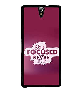 printtech Cool Quotes Success Back Case Cover for Sony Xperia C5 Ultra Dual , Sony Xperia C5 E5553 E5506::Sony Xperia C5 Ultra
