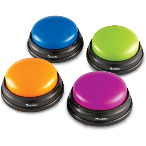 Learning Resources Answer Buzzers – Set of 4