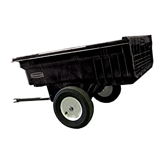 Rubbermaid Commercial FG566000BLA Tractor Cart, 1200-pound Capacity, Black