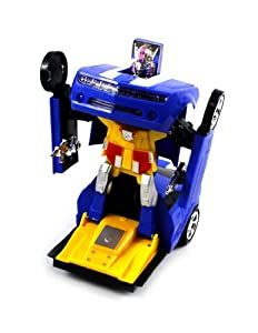 Velocity Toys Chevy Camaro SS Super Robot Electric Toy Figure Transforming, Bump 'N Go Action at Sears.com
