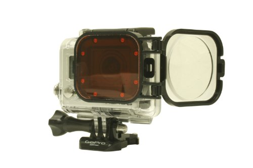 Red/Macro Combo Filter-Polar Pro Filters-For the GoPro Hero3 Camera